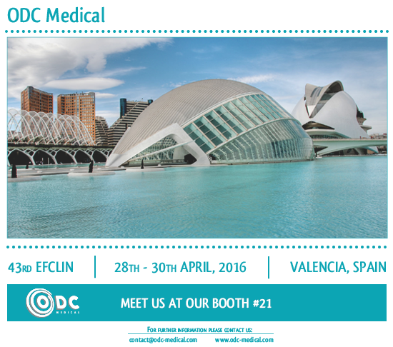 ODC Medical, EFCLIN, Valencia, Congress